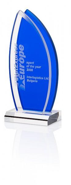 "Hochwertige Acryl-Trophäe ""Ocean Sail Award"" (Artikel 7323A)"