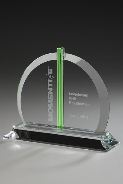 "Kristallglas-Trophäe ""Bellingham Award"" (Artikel 79502)"