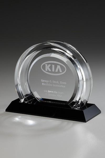 "Kristallglas-Trophäe ""Arches Award"" (Artikel 79051)"