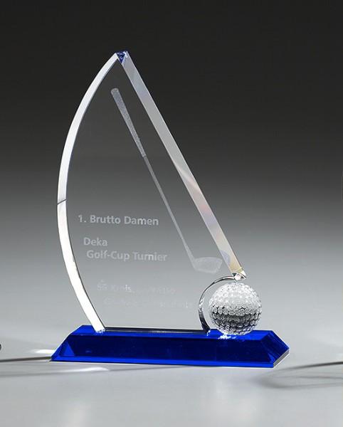 "Kristallglas-Trophäe ""Globe Sail Award"" (Artikel 7958A)"
