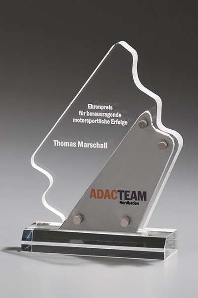 "Acryltrophäe ""Metal Lightning Award"" (Artikel 7422 A)"