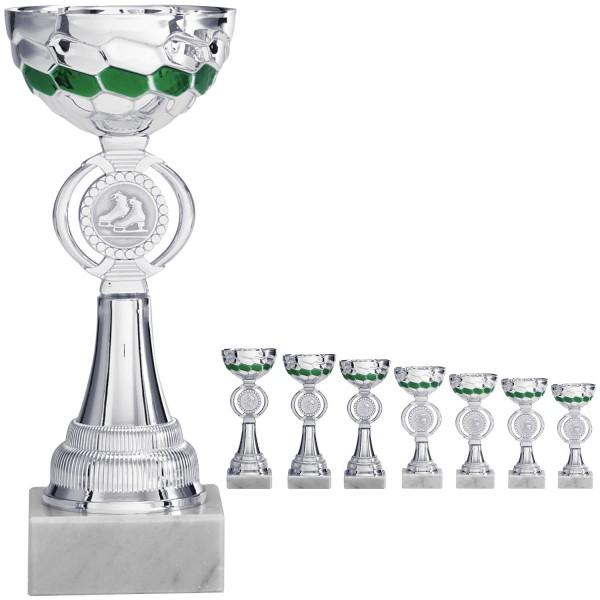 Silber-grüner Pokal (Artikel 8120)