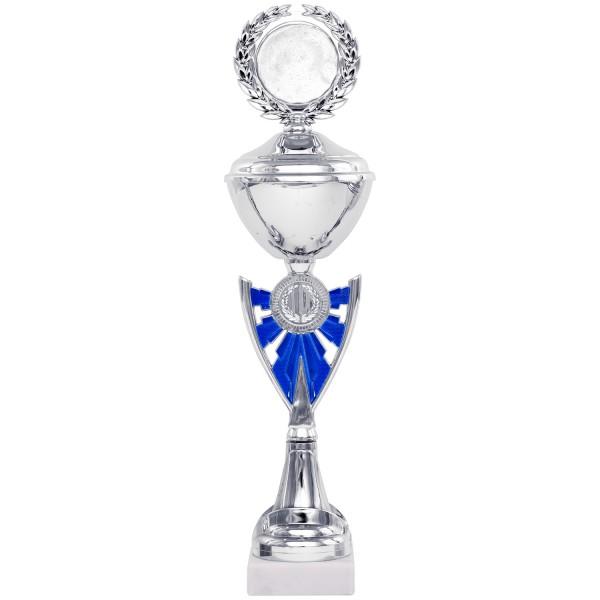 Klassischer Pokal in Gold-Silber (Artikel 8830) ohne Deckel oder (Artikel 9830) mit Deckel