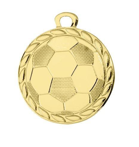 Fußball-Medaille gold (Artikel 4053)