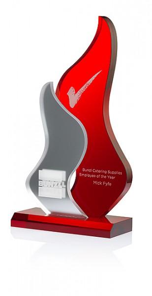 "Acryltrophäe ""Fire Free Spirit Award"" (Artikel 7337)"