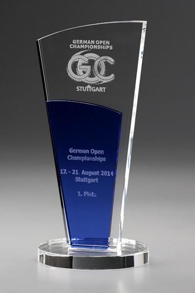 """Kristallglas-Trophäe """"Crystal Dido Award"""" (Artikel 7953)"""