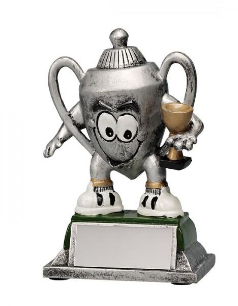 Kunststoff Comic Pokal mit Gravur (Artikel 166)