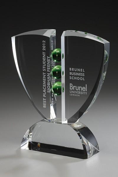 "Kristallglas-Trophäe ""Pinion Award"" (Artikel 79501)"