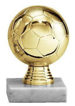 Fußballaufsteller goldener Ball VE 10 (Artikel 4805)