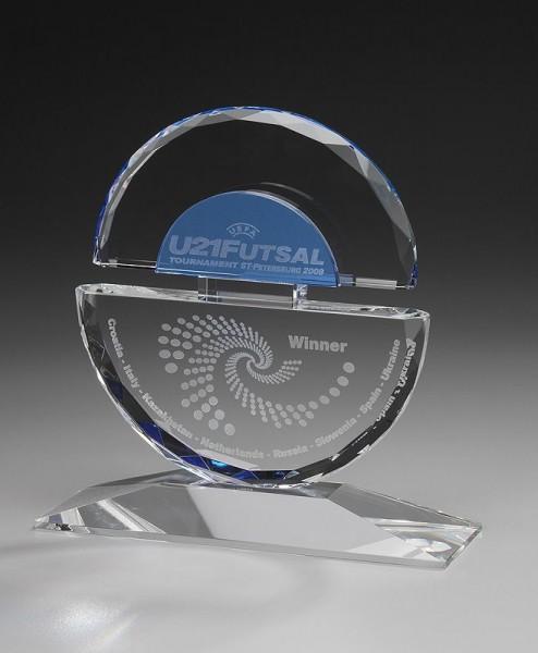 "Hochwertige Kristallglas-Trophäe ""Balanced Award"" (Artikel 7936A)"