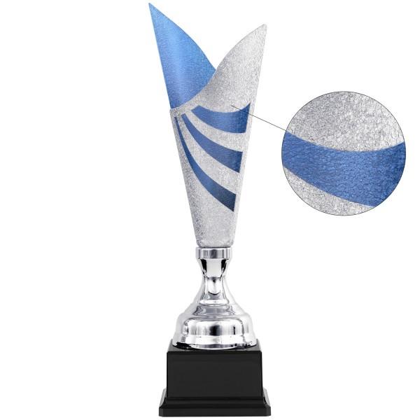 Edler silberner Pokal mit goldenem Element (Artikel 8520)
