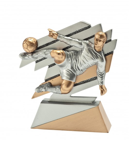Moderne Fußballerfigur in Aktion VPE 54 (Artikel 4835)
