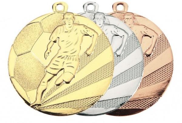 Fußball-Medaille VPE 100 (Artikel 4825/50)