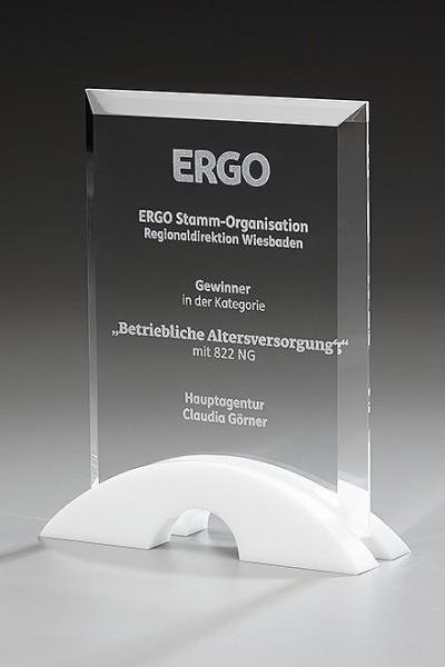 """Kristallglas-Trophäe """"Barrow Award"""" (Artikel 79522)"""
