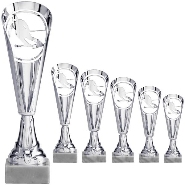 Neuheit: Pokalalternative in Silber mit Motiv als Negativ (Artikel 8680)
