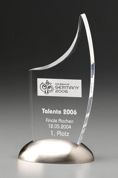 "Acryltrophäe ""Metal Sail Award"" (Artikel 7432 A)"