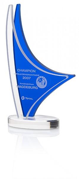 "Hochwertige Acryl-Trophäe ""Dhow Award"" (Artikel 7321A)"